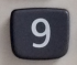 数字キー「9」