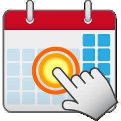 タッチカレンダー