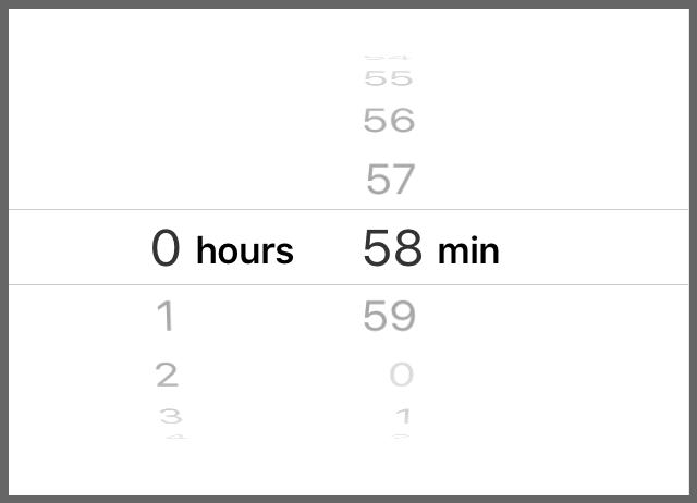 Modeに「Count Down Timer」を設定