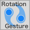 Rotation Gesture Recognizer