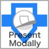 Present Modally