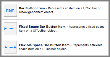 Bar Button Item