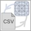 CSVの入出力イメージ