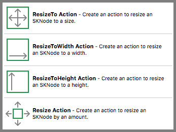 Resize Action