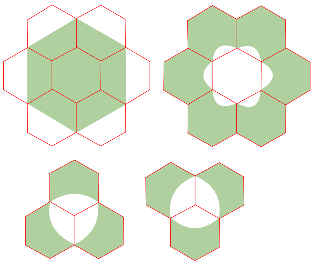 Hexagonal Pointy Tileの画像19枚