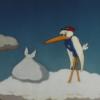 アニメを聞いて英語学習「コウノトリがダンボを運んでくる」