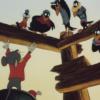 アニメで英語「ネズミがカラスを説教する」