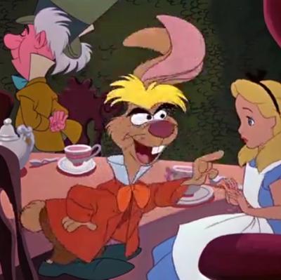 アニメで英語「アリスと三月ウサギ」