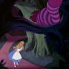 アニメで英語「チャシャ猫とアリス」