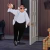 アニメで英語「父親が子供の部屋にくる」
