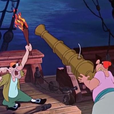 アニメで英語「カノン砲」